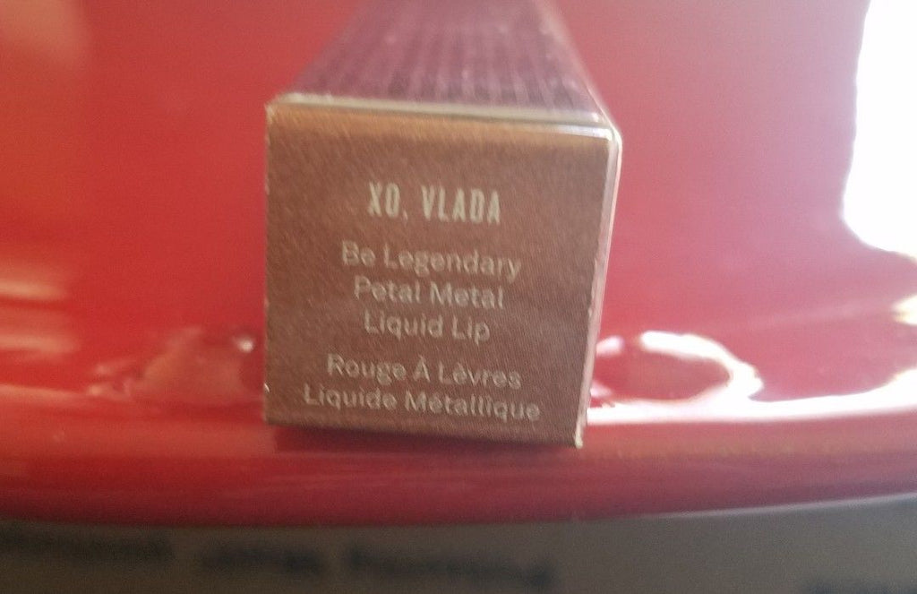 Smashbox + Vlada - Be Legendary Petal Metal Liquid Lip - XO Vlada - New in Box - I Have Cosmetics