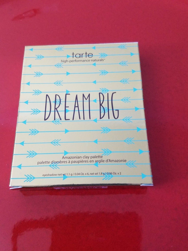 TARTE Dream Big Amazonian Clay Eyeshadow Palette ❤️ 100% Authentic - New in Box - I Have Cosmetics