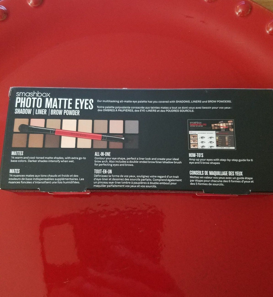 Smashbox Photo Matte Eyes Shadow - Liner - Brow Powder ❤️ 100% Authentic - I Have Cosmetics