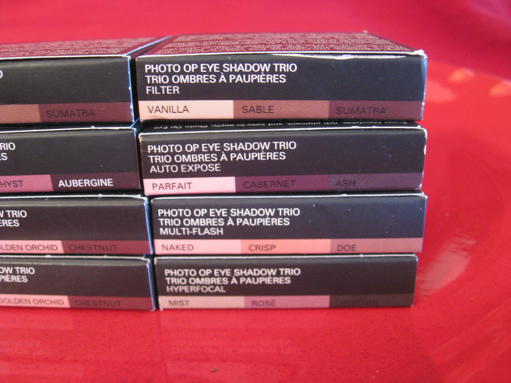 Smashbox Photo Op Eye Shadow Trio ~ YOU CHOOSE Your Color ~ Brand New in Box - I Have Cosmetics
