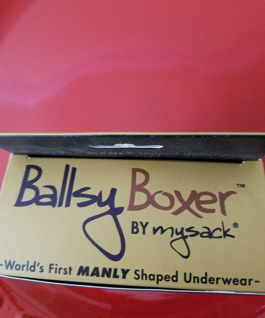 Ballsy Boxer - I'm Nuts About You - Size 36-38 LARGE - New in Box - I Have Cosmetics
