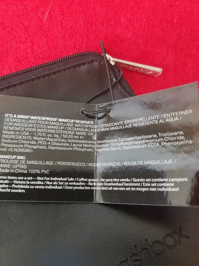 Smashbox Its A Wrap Waterproof Makeup Remover W Bag Samples
