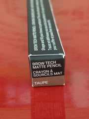 Smashbox Brow Tech Matte Pencil - TAUPE - Brand New in Box - Authentic - I Have Cosmetics