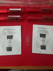 Smashbox Clear Makeup / Cosmetic Bag w/ 6 Samples ❤️ Authentic - I Have Cosmetics
