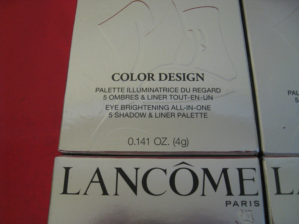 Lancome Paris Color Design Eye Brightening All in One ~ Choose Your Color - I Have Cosmetics
