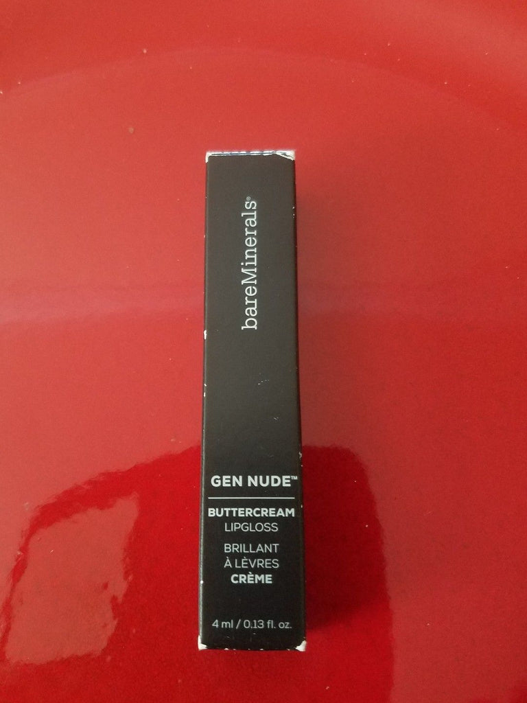 bareMinerals GEN NUDE Buttercream Lipgloss ❤️ MINX ❤️ 100% Authentic - I Have Cosmetics
