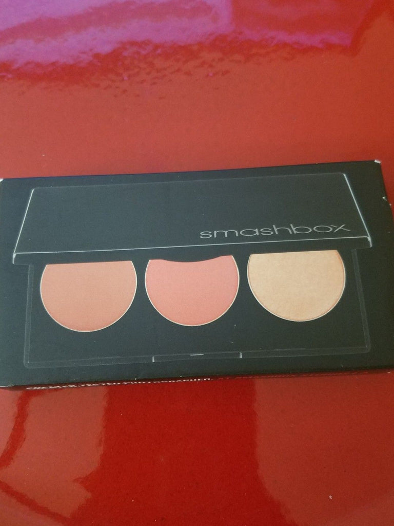 Smashbox LA LIGHTS Blush and Highlight Palette ❤️ Culver City Coral ❤️ Authentic - I Have Cosmetics