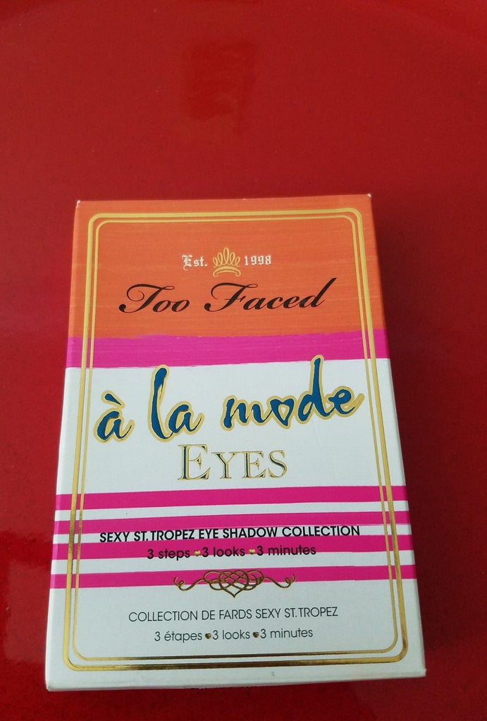Too Faced A La Mode - Brand New in Box - Box in FAIR Condition - I Have Cosmetics