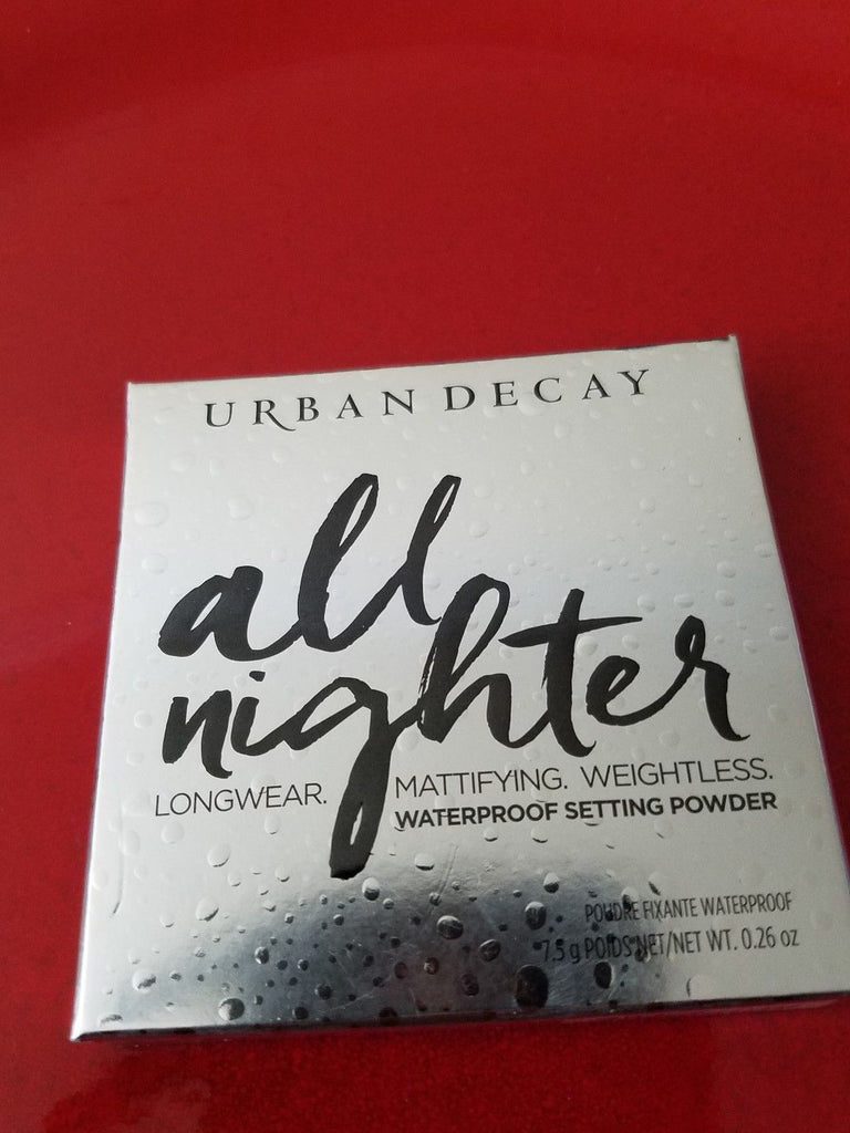 URBAN DECAY All Nighter Waterproof Setting Powder ❤️ 100% Authentic - New in Box - I Have Cosmetics