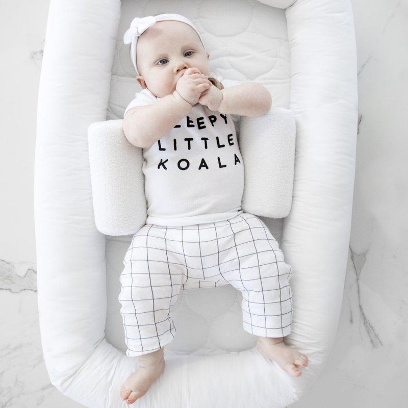 Babyhood - Organic Breathe Eze Sleep Positioner - Parnell Baby Boutique