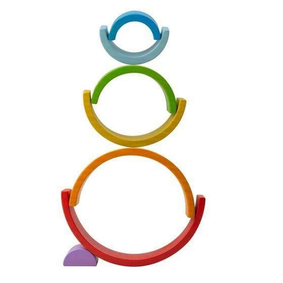 Wooden Stacking Rainbow - Parnell Baby Boutique