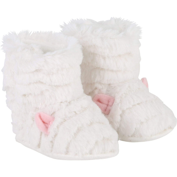 Billieblush Fluffy Ugg Booties - Parnell Baby Boutique