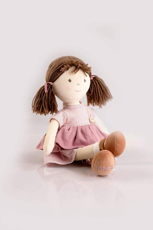 All Natural Doll - Brook 38cm - Parnell Baby Boutique