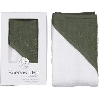 Organic Hooded Baby Towel ( NEW COLOURS) - Parnell Baby Boutique