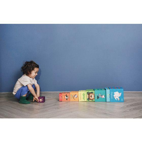 Forest Animal Stacking Cubes - Parnell Baby Boutique