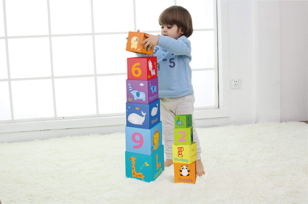 Stacking Cubes - Parnell Baby Boutique