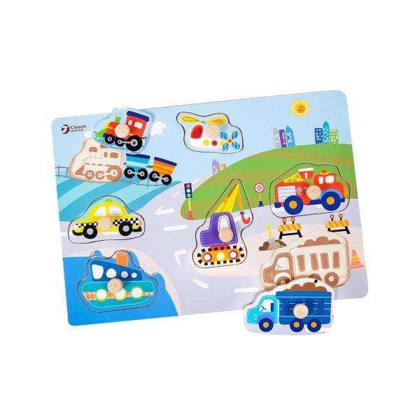 Vehicle Puzzles - Parnell Baby Boutique