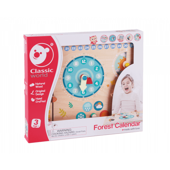 Forest Calendar - Parnell Baby Boutique