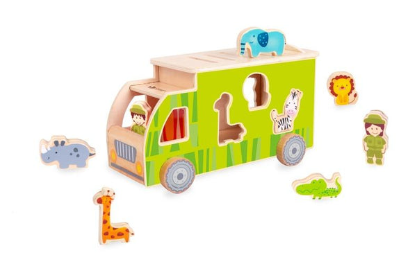 Animal Sorting Truck - Parnell Baby Boutique