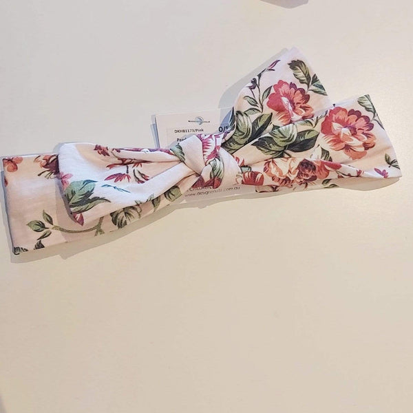 Pearl Floral Headband - Parnell Baby Boutique
