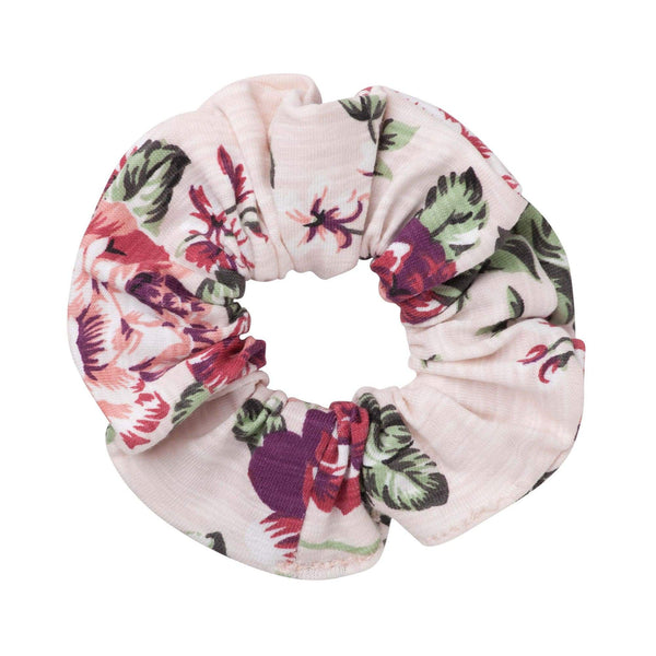 Pearl Floral Scrunchie - Parnell Baby Boutique