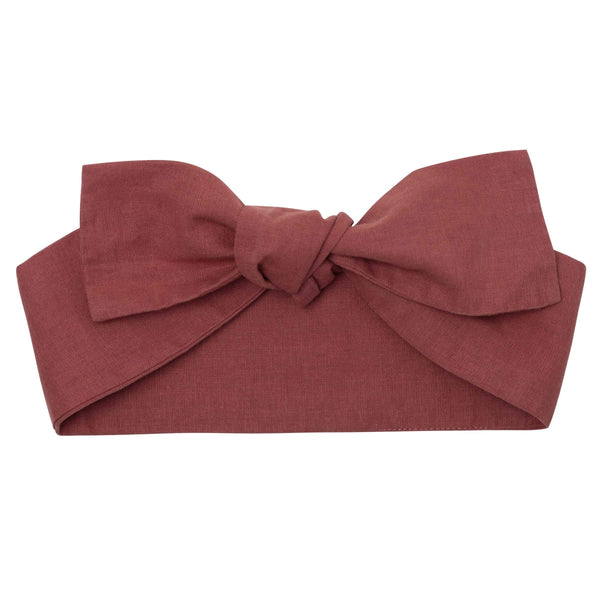 Linen Prarie Headband - Parnell Baby Boutique