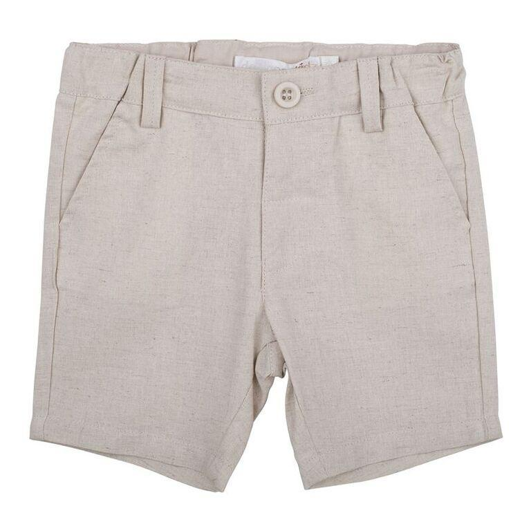Toby Linen Shorts - Parnell Baby Boutique
