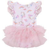 Enchanted Unicorn S/S Petti Romper - Parnell Baby Boutique