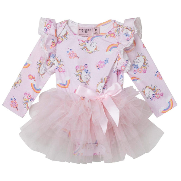 Enchanted Unicorn L/S Petti Romper