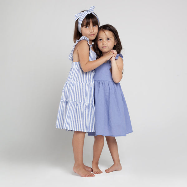 Frill Dress with Straps - Parnell Baby Boutique