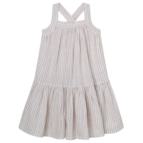 Cross Straps Lined Dress - Parnell Baby Boutique