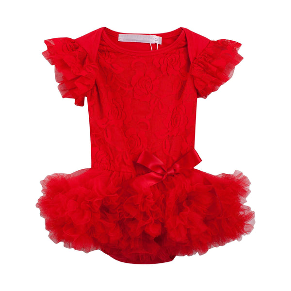 Ruby Petti Romper - Parnell Baby Boutique