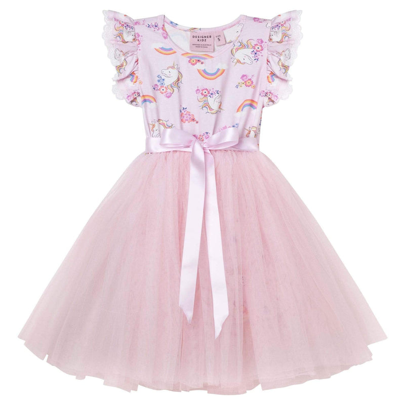 Enchanted Unicorn S/S Tutu Dress - Parnell Baby Boutique