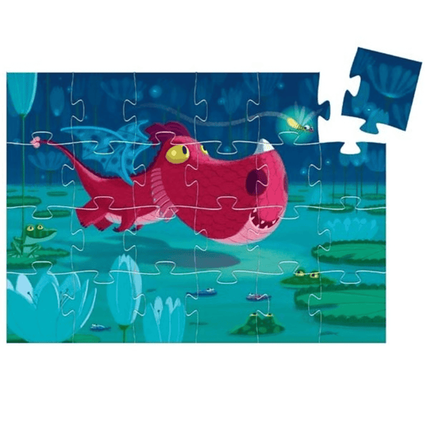 Edmund The Dragon 24 Piece Puzzle - Parnell Baby Boutique