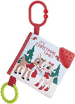 My First Christmas Rudolph Soft Book - Parnell Baby Boutique