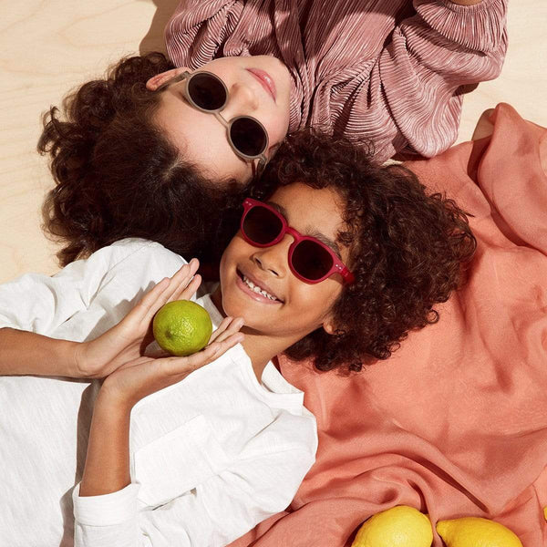 Izipizi Sun Junior Sunglasses 3-10Y - Collection C Bloom (Defty Grey) - Parnell Baby Boutique