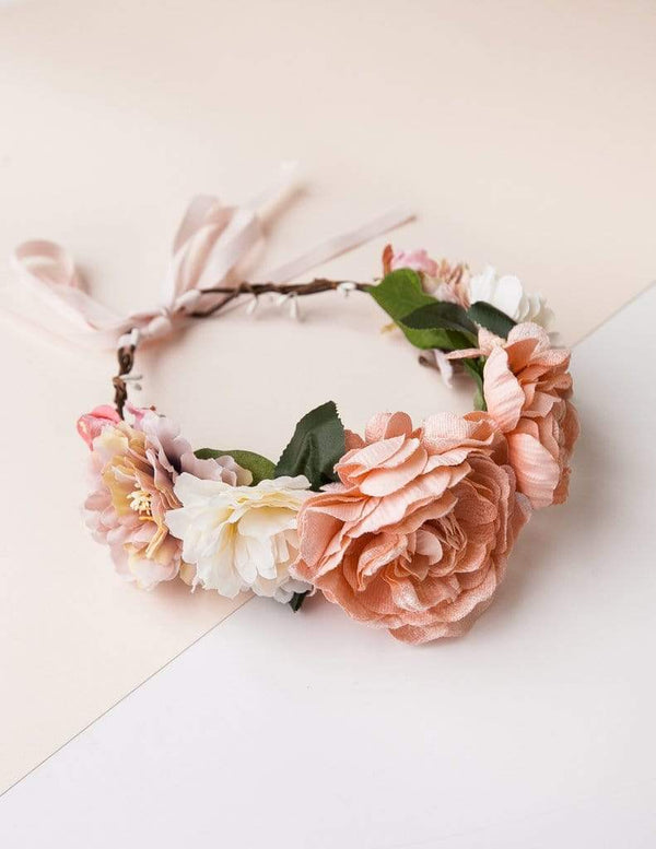 Karibou Kids Accessory Hair Summer Goddess Floral Crown - Secret Garden 1pc