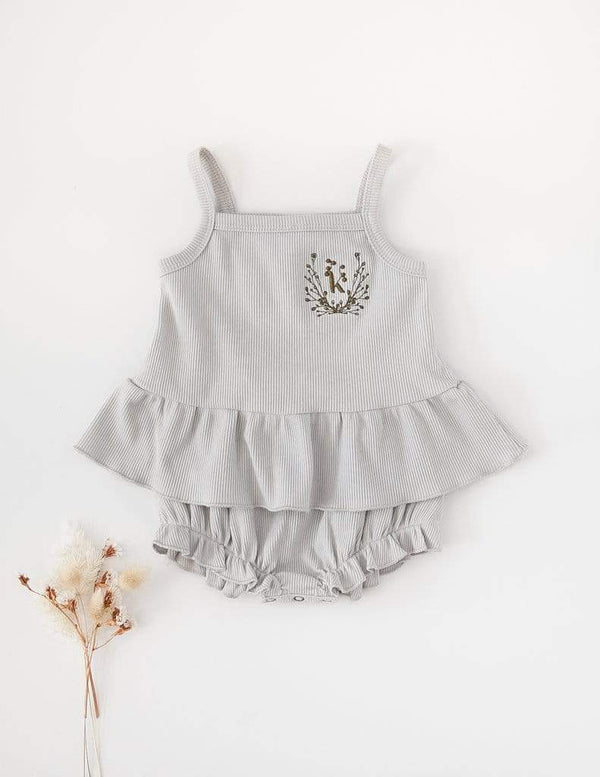 Ruby Cotton Tank and Bloomer Set - Parnell Baby Boutique