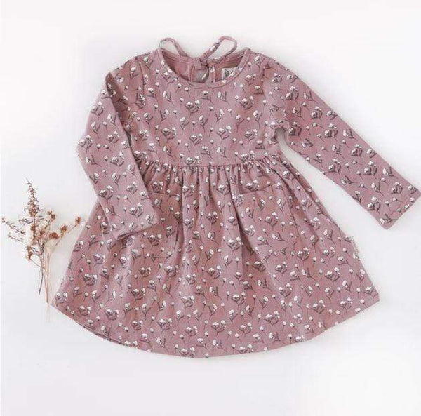 Karibou Cotton Puff Pocket Dress - Parnell Baby Boutique