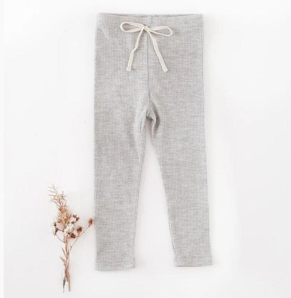 Waffle Cotton Leggings - Parnell Baby Boutique