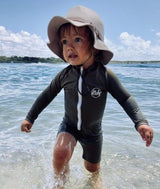 One Piece Rashguard Suit - Parnell Baby Boutique