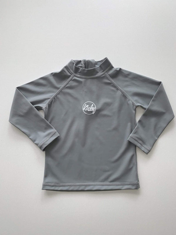 Rashguard Top - Storm Grey - Parnell Baby Boutique