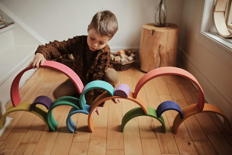 Kinderfeets Toys Large Rainbow Arches