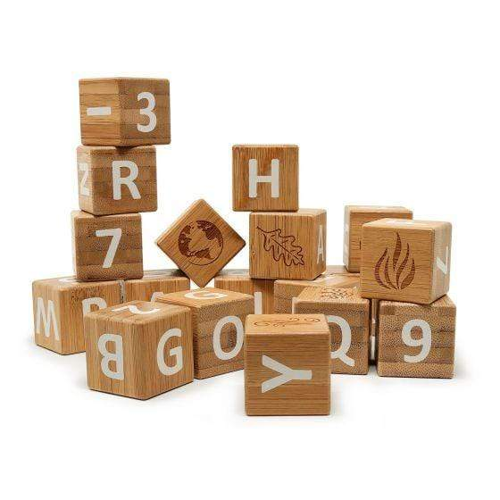BAMBOO ABC BLOCKS - Parnell Baby Boutique