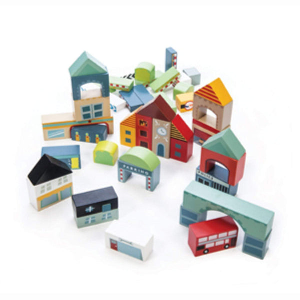 Timber Town Wooden Blocks - Parnell Baby Boutique