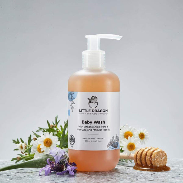 Organic Baby Wash 250ml - Parnell Baby Boutique