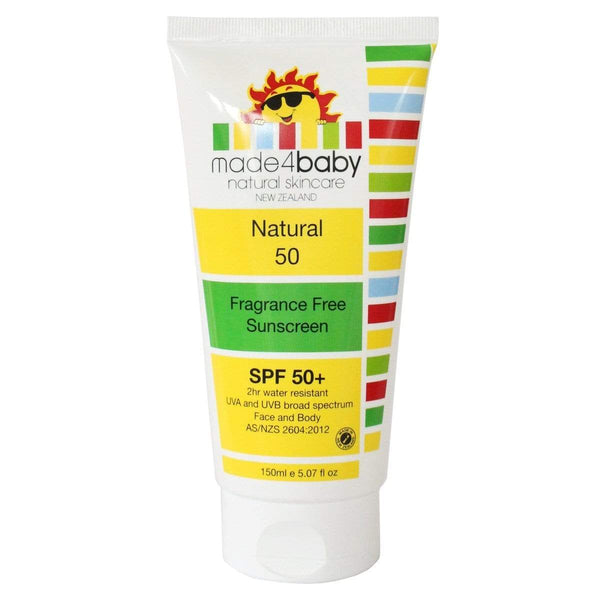 Natural Sunscreen SPF50 - Parnell Baby Boutique