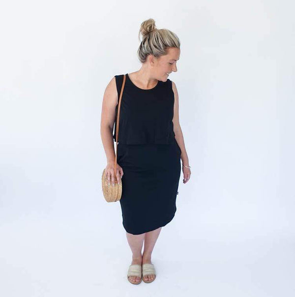 Kenzie Breastfeeding Dress - Parnell Baby Boutique