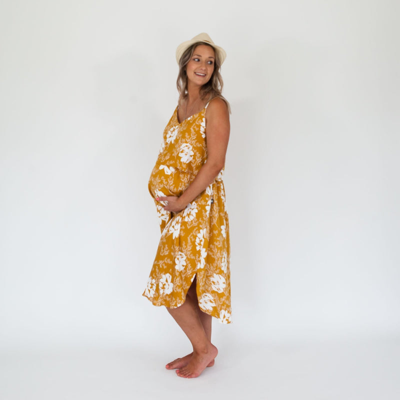 Ruby Midi Breastfeeding Dress - Parnell Baby Boutique