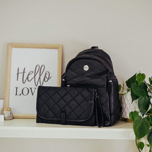 Quilted Backpack Nappy Bag - Parnell Baby Boutique